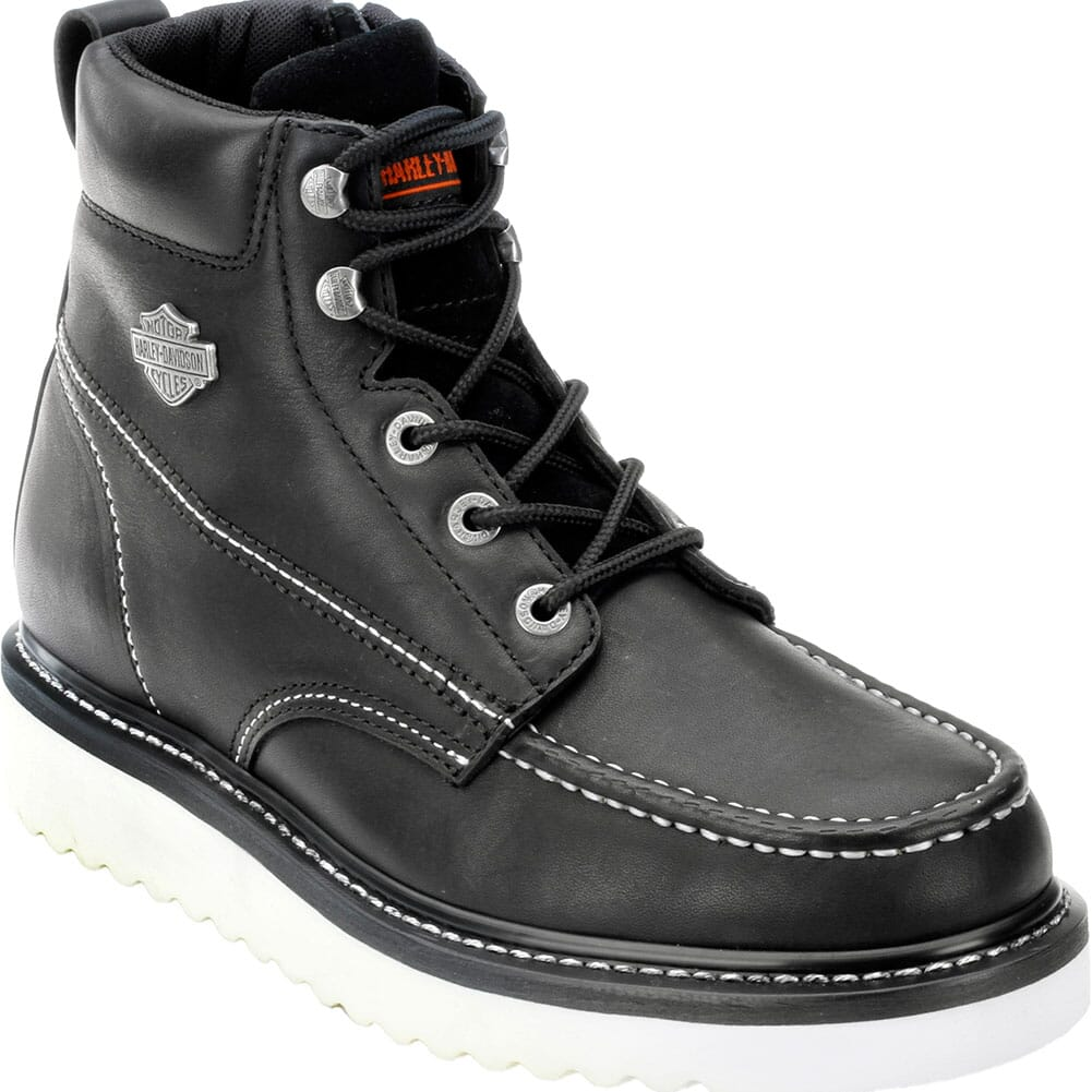 Image for Harley Davidson Men's Beau Motorcycle Boots - Black from bootbay