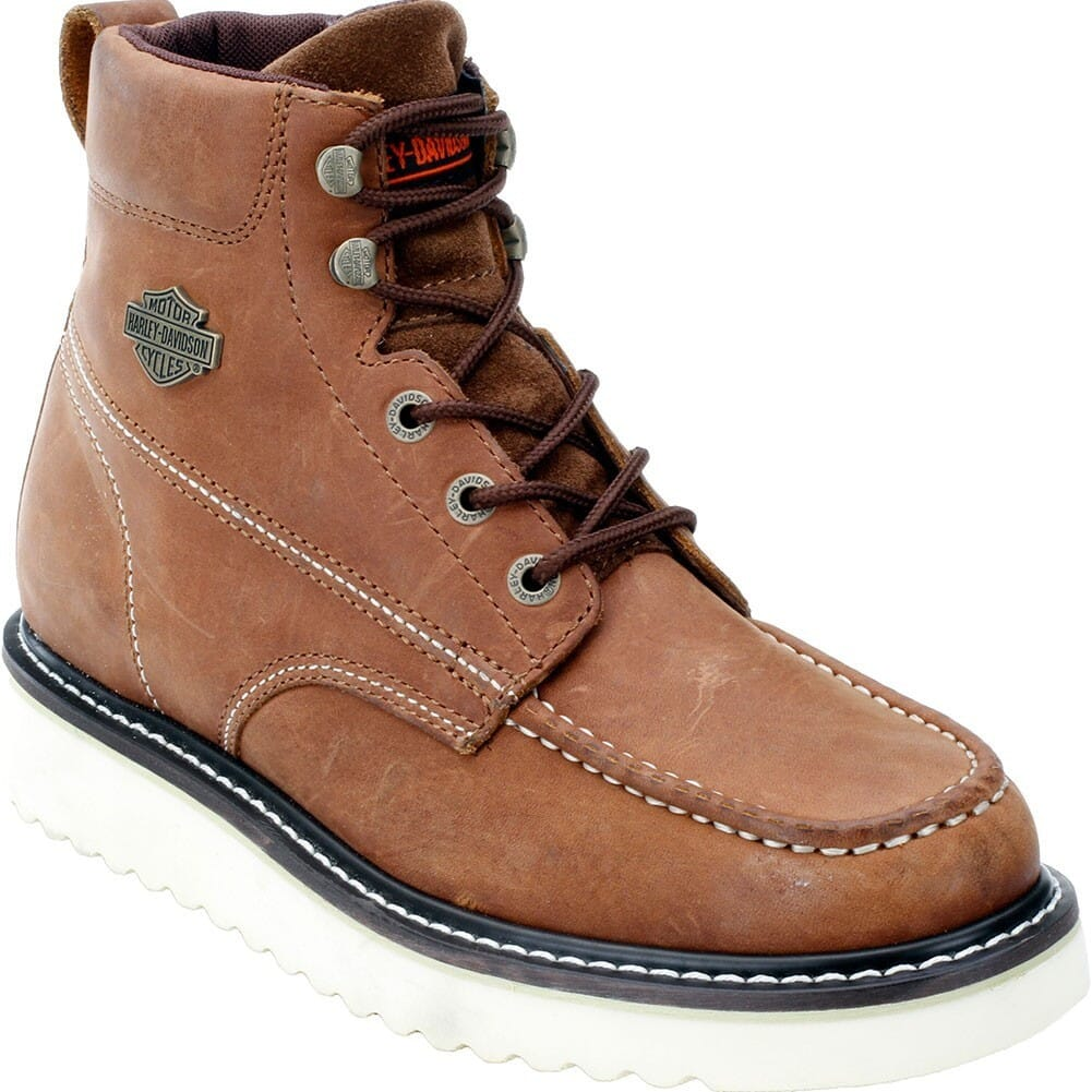 Image for Harley Davidson Men's Beau Motorcycle Boots - Brown from bootbay