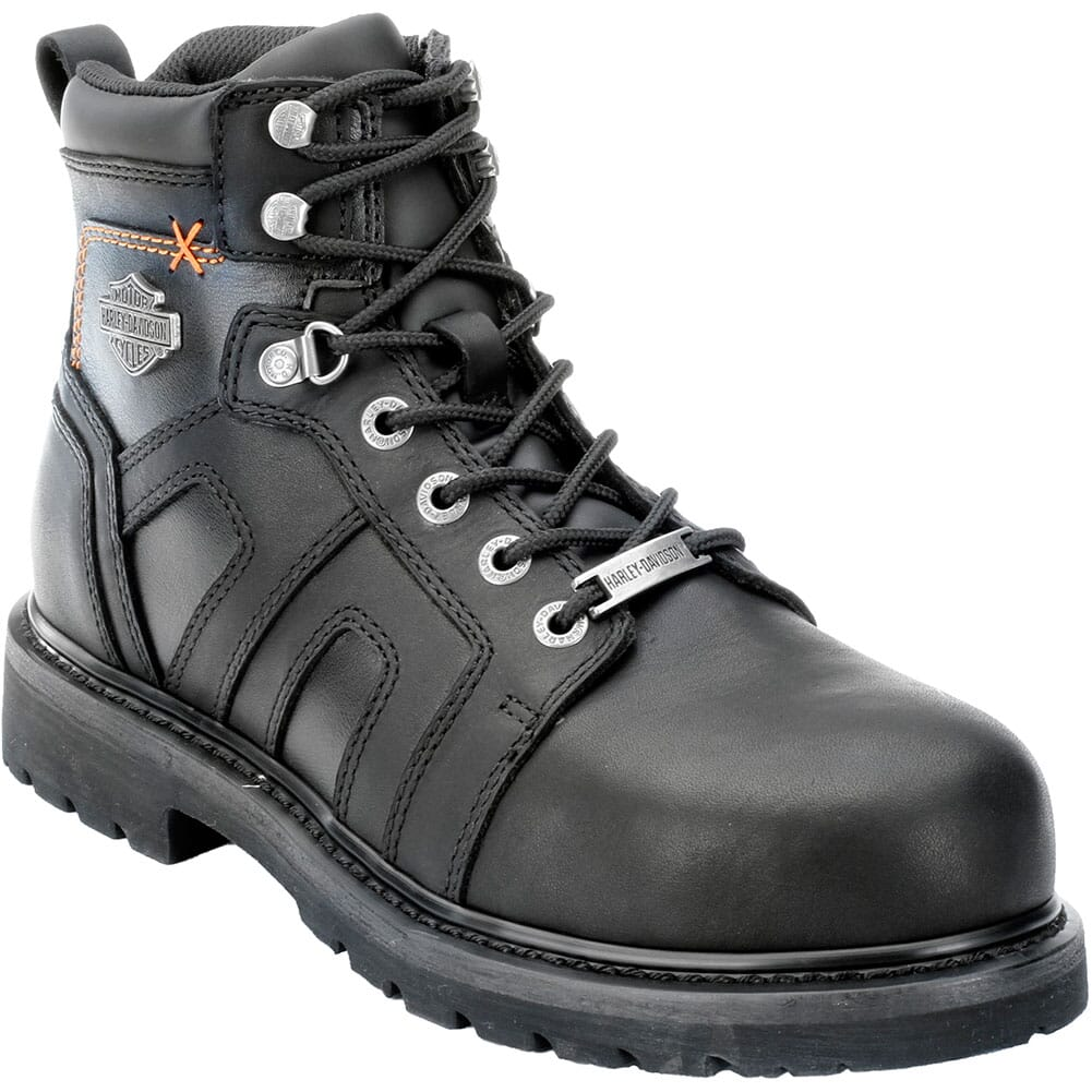 Image for Harley Davidson Men's Chad Safety Boots - Black from bootbay