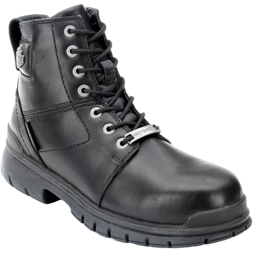 Image for Harley Davidson Men's Gage Safety Boots - Black from bootbay