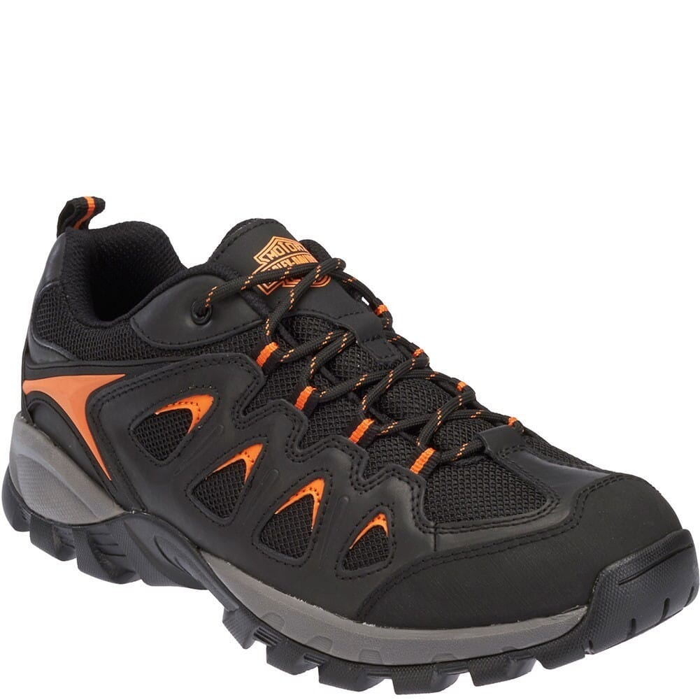 Image for Harley Davidson Men's Eastfield Safety Shoes - Black from bootbay