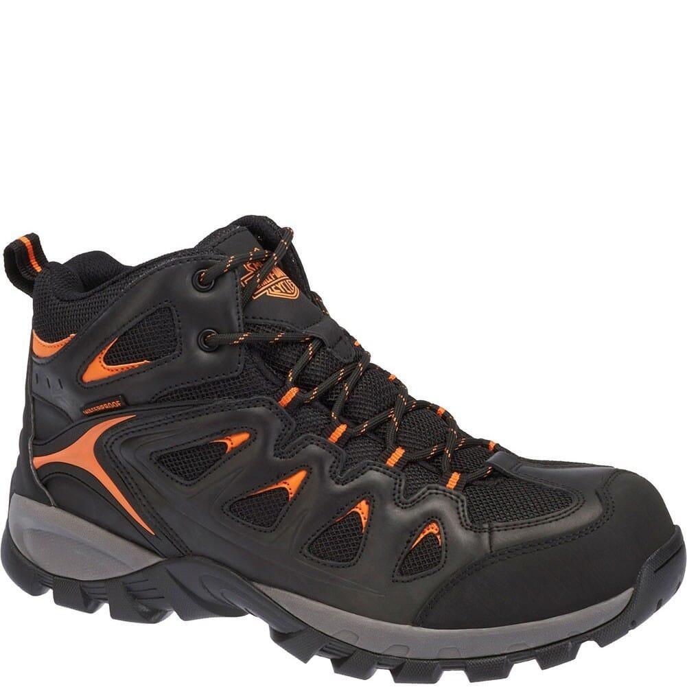 Image for Harley Davidson Men's Woodridge Safety Boots - Orange Black from bootbay