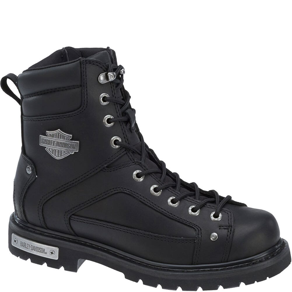 Image for Harley Davidson Men's Abercorn Motorcycle Boots - Black from bootbay