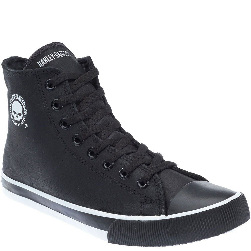 Image for Harley Davidson Men's Baxter Casual Shoes - Black/White from bootbay