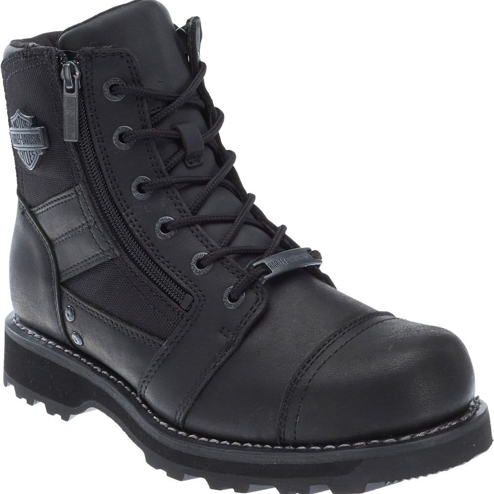 Image for Harley Davidson Men's Bonham Motorcycle Boots - Black from bootbay