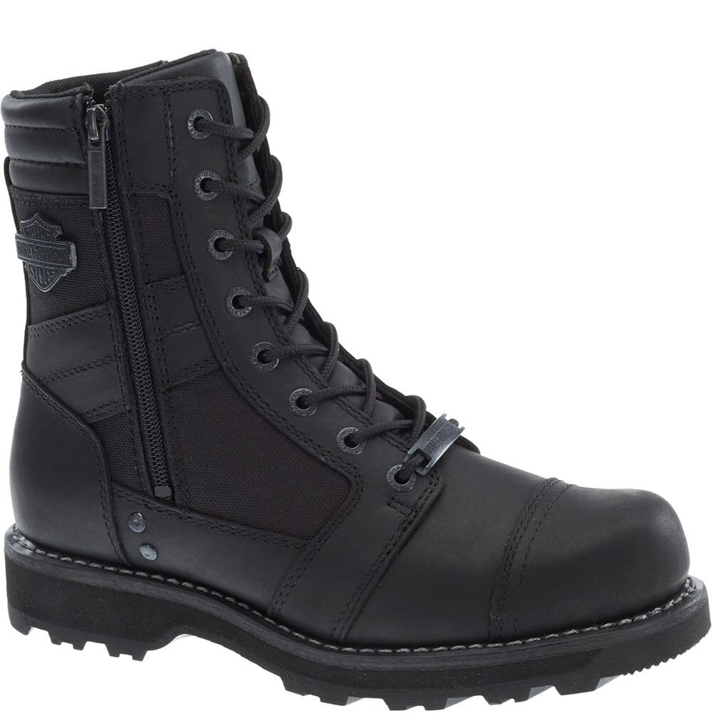 Image for Harley Davidson Men's Boxbury Motorcycle Boots - Black from bootbay