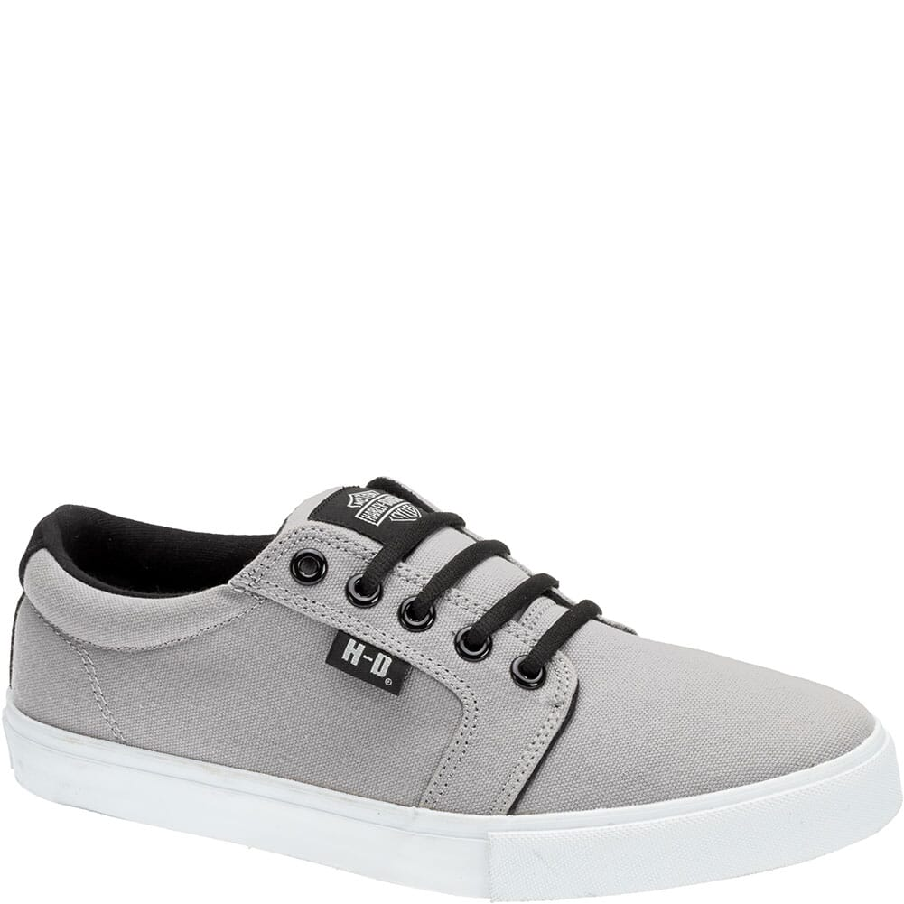 Image for Harley Davidson Men's Ellis Casual Shoes - Grey/Black from bootbay