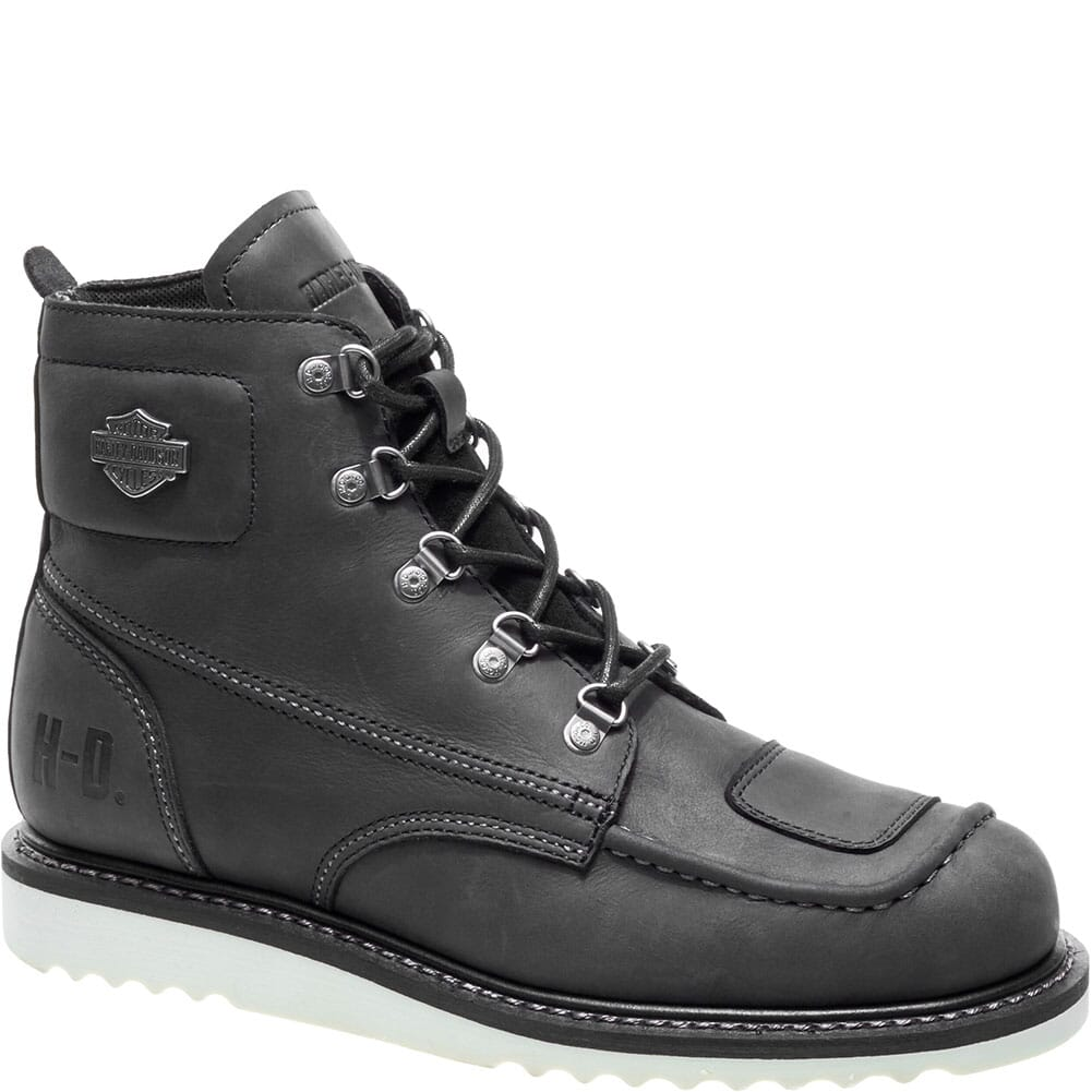 Image for Harley Davidson Men's Hagerman Motorcycle Boots - Black from bootbay