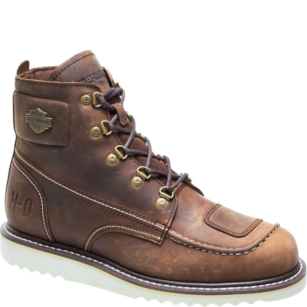 Image for Harley Davidson Men's Hagerman Motorcycle Boots - Brown from bootbay