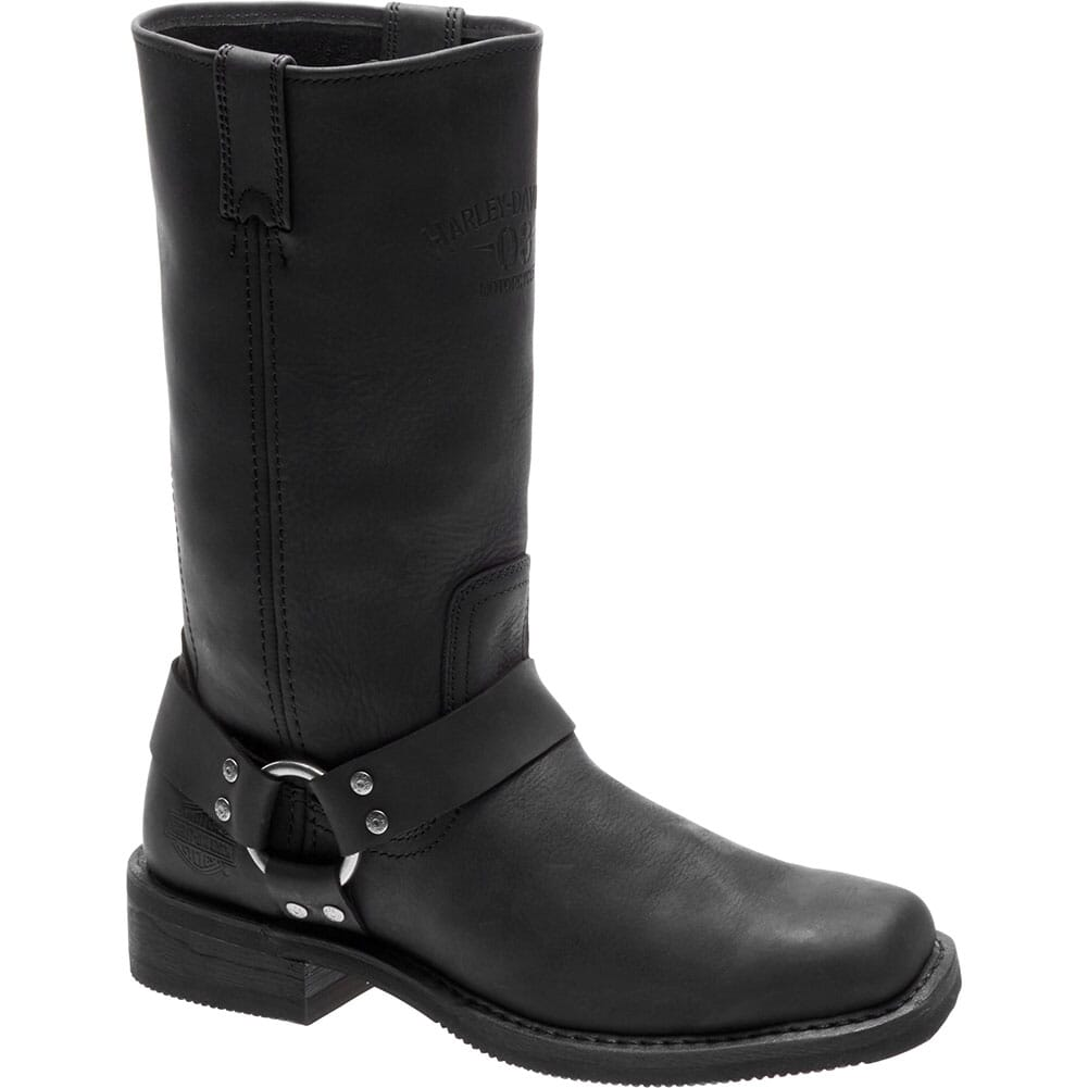 Image for Harley Davidson Men's Bowden Motorcycle Boots - Black from bootbay