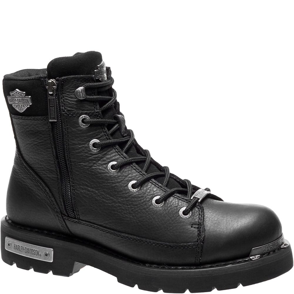 Image for Harley Davidson Men's Chipman Motorcycle Boots - Black from bootbay