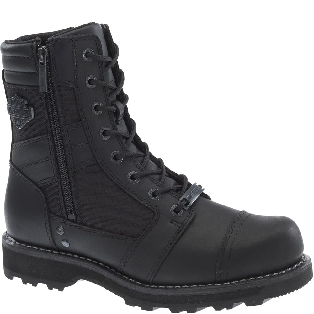 Image for Harley Davidson Men's Boxbury CT Safety Boots - Black from bootbay