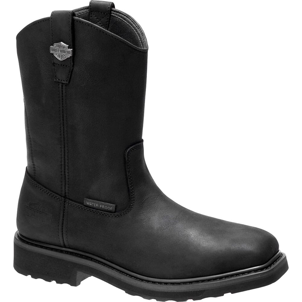Image for Harley Davidson Men's Altman CT Safety Boots - Black from bootbay