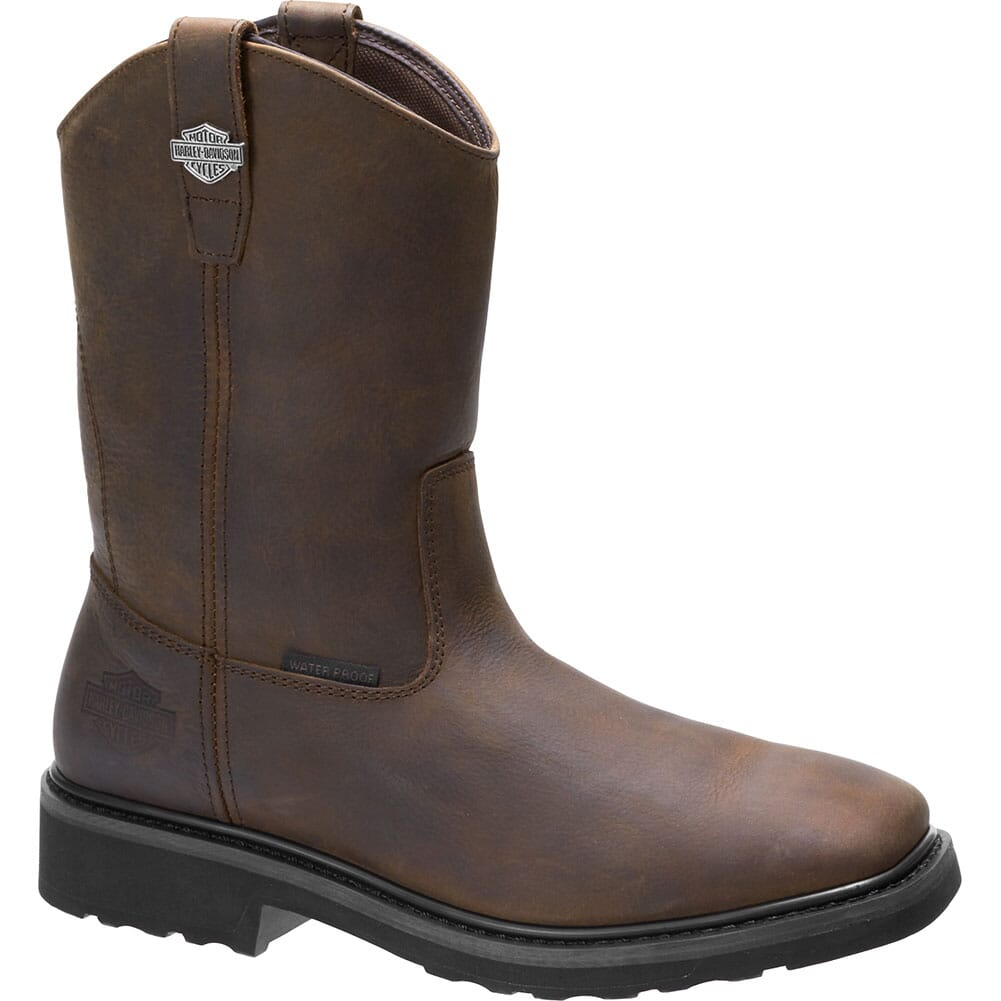Image for Harley Davidson Men's Altman CT Safety Boots - Brown from bootbay