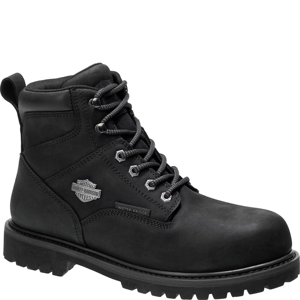 Image for Harley Davidson Men's Gavern Safety Boots - Black from bootbay