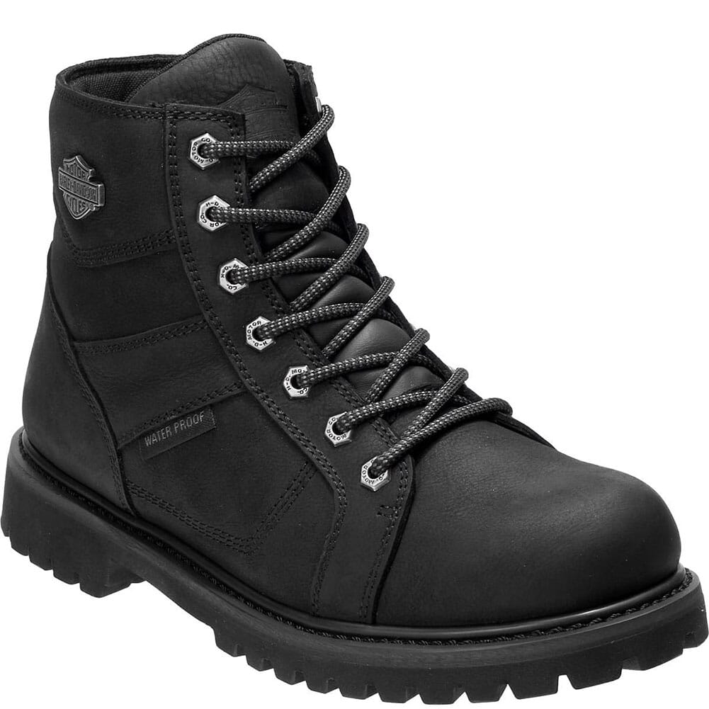 Image for Harley Davidson Men's Lagarto Safety Boots - Black from bootbay