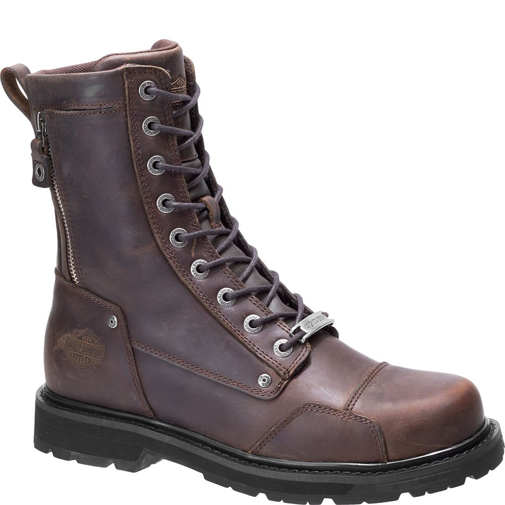 Image for Harley Davidson Men's Chatfield Motorcycle Boots - Brown from bootbay