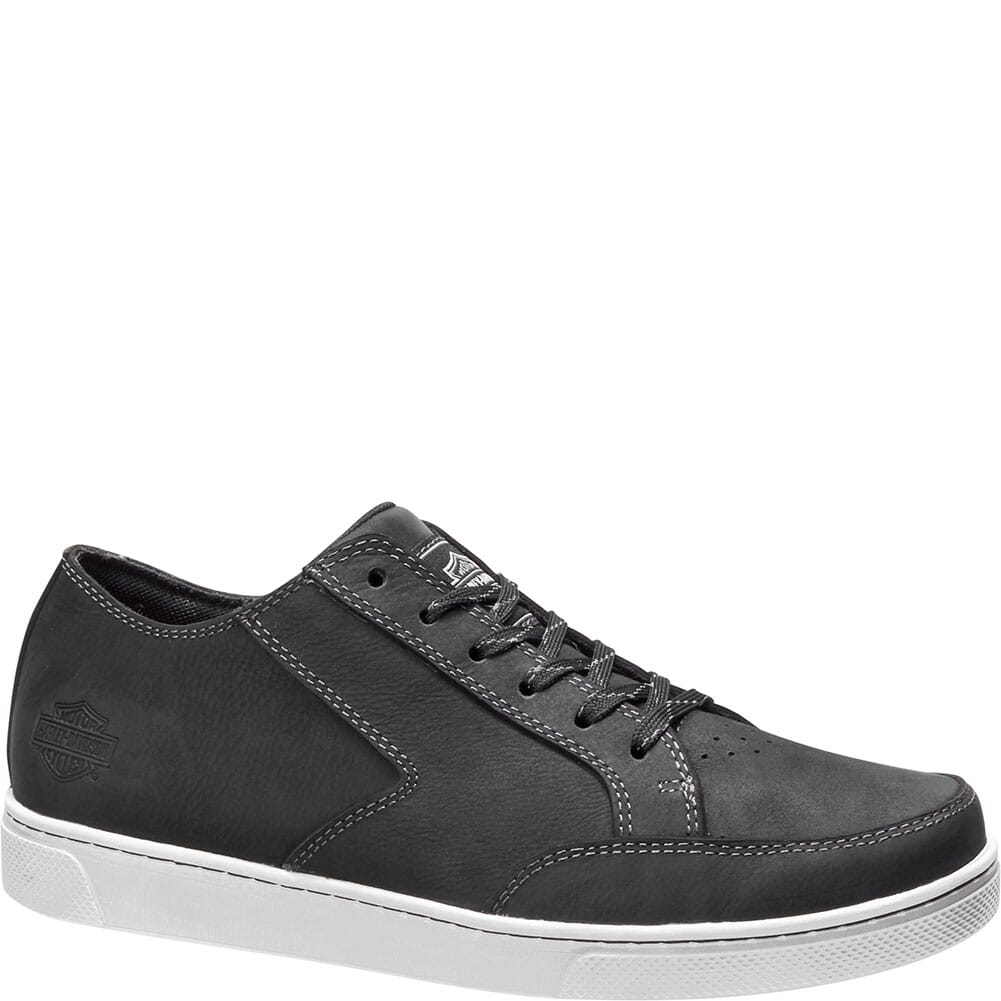 Image for Harley Davidson Men's Luton Casual Shoes - Black from bootbay