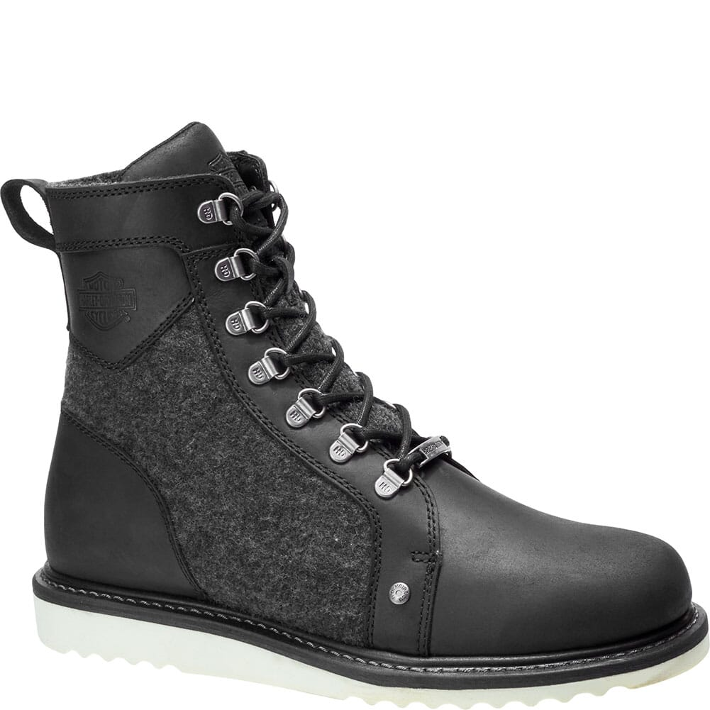 Image for Harley Davidson Men's Bryant Motorcycle Boots - Black from bootbay