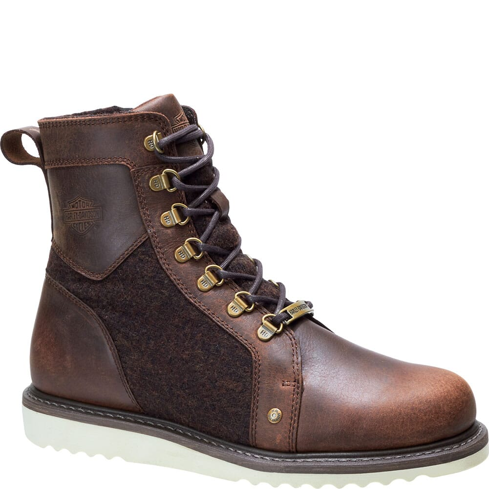 Image for Harley Davidson Men's Bryant Motorcycle Boots - Brown from bootbay