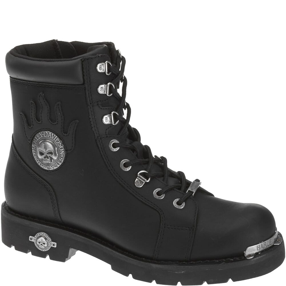 Image for Harley Davidson Men's Diversion Motorcycle Boots - Black from bootbay