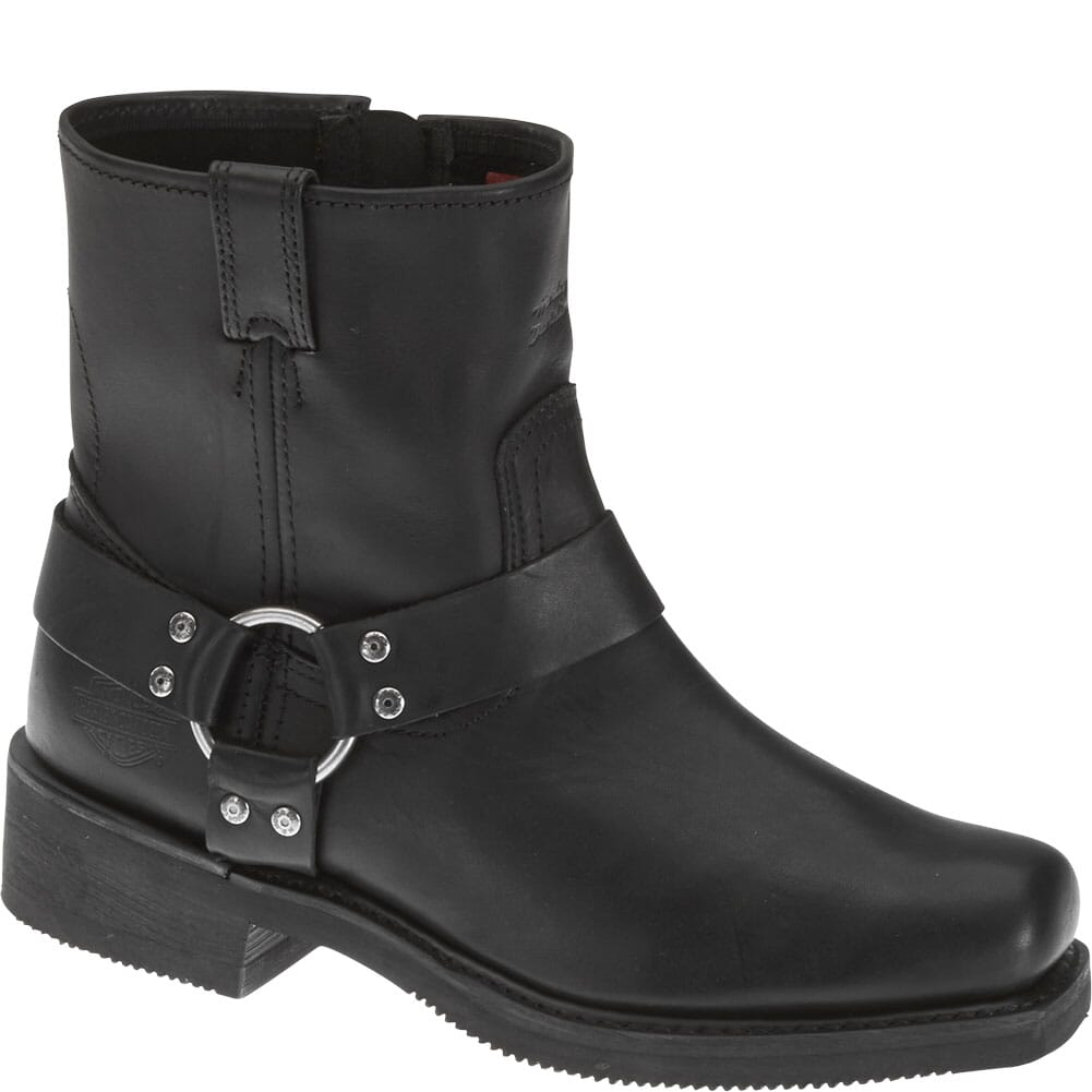 Image for Harley Davidson Men's EL Paso Motorcycle Boots - Black from bootbay