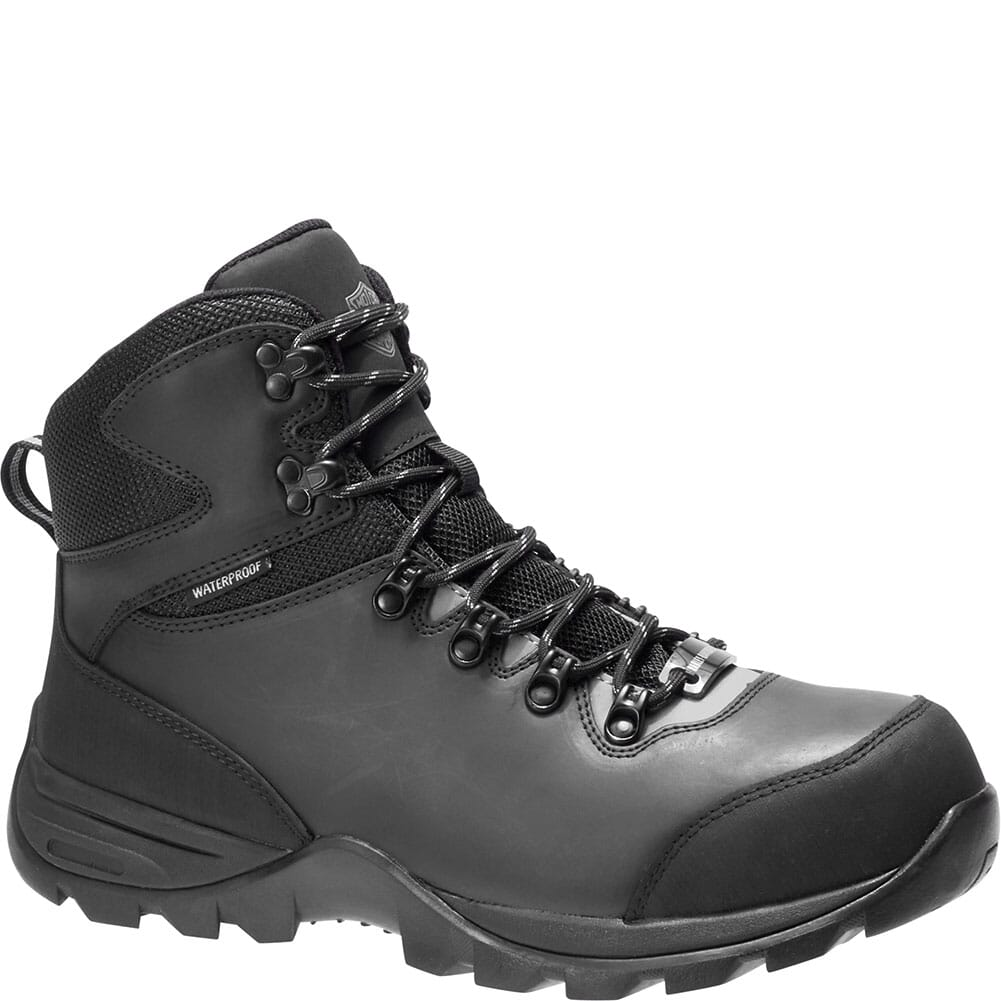 Image for Harley Davidson Men's Benham CT Safety Boots - Black/Grey from bootbay