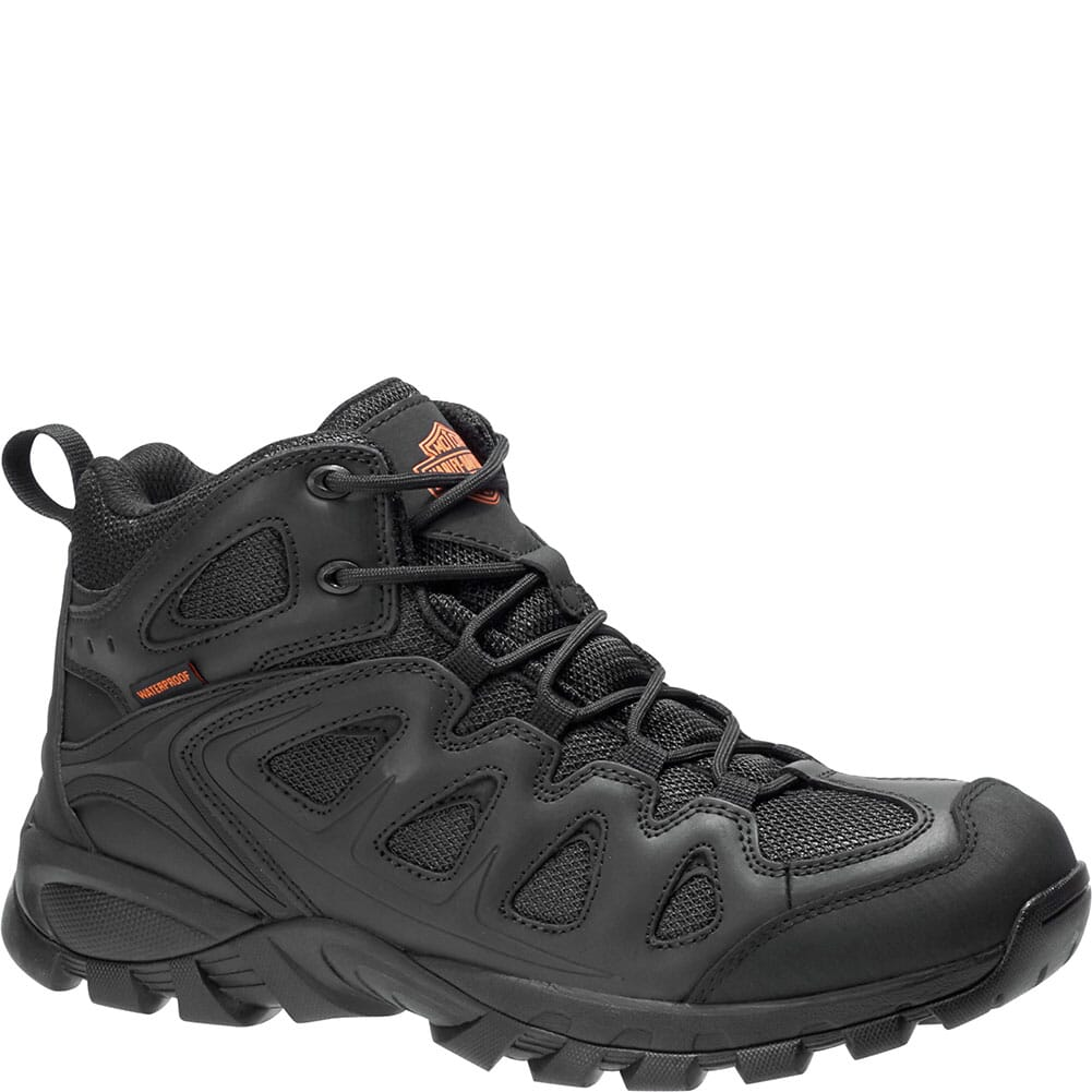 Image for Harley Davidson Men's Woodridge Safety Boots - Black from bootbay
