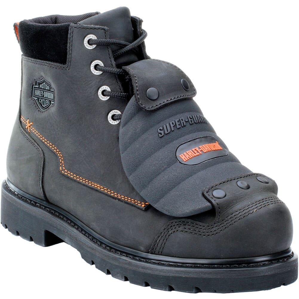 Image for Harley Davidson Men's Jake Met Guard Safety Boots - Black from bootbay