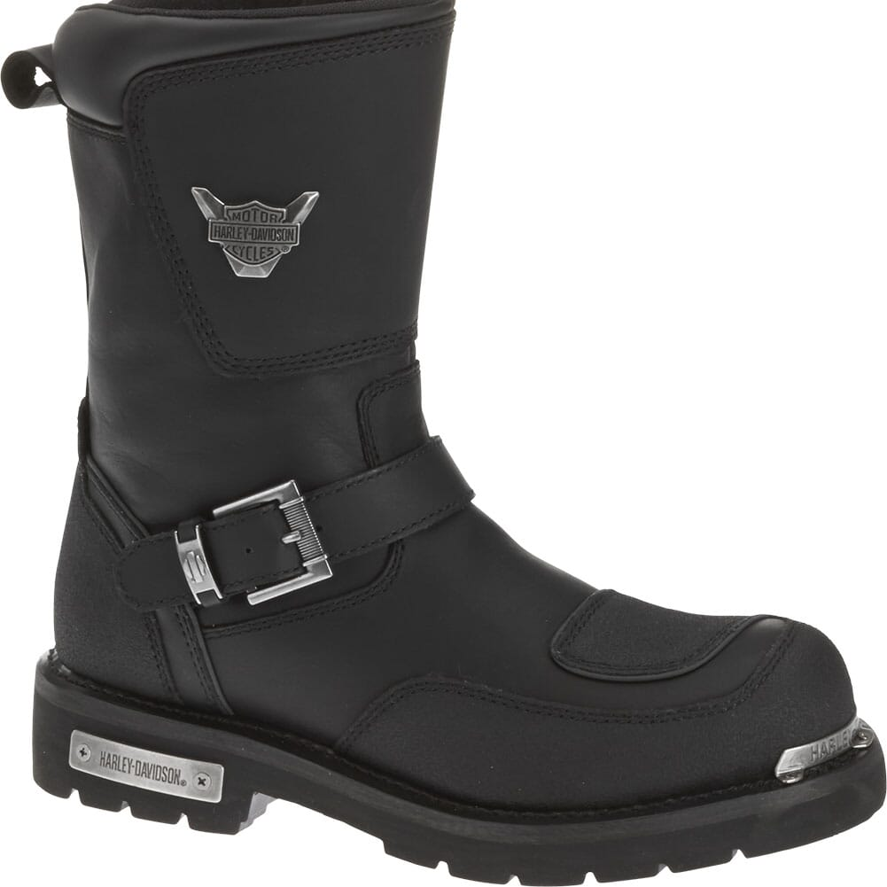 Image for Harley Davidson Men's Shift Motorcycle Boots - Black from bootbay