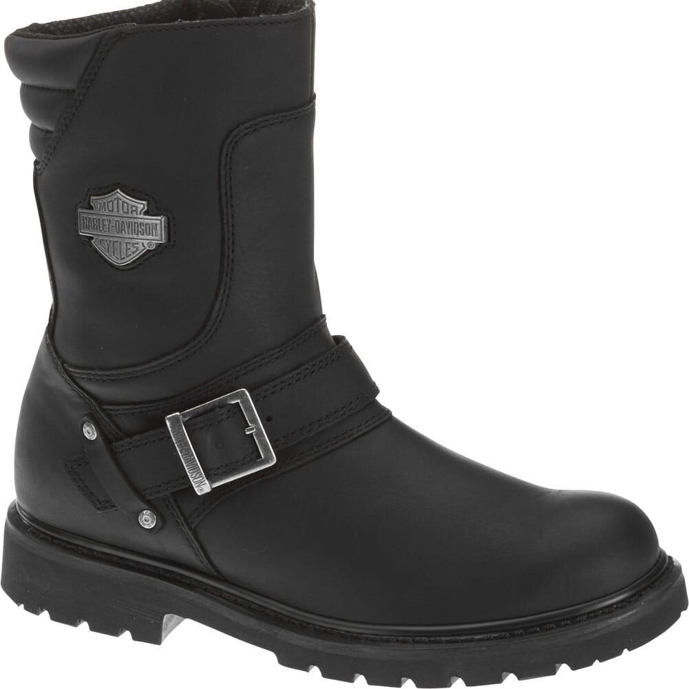 Image for Harley Davidson Men's Booker Motorcycle Boots - Black from bootbay
