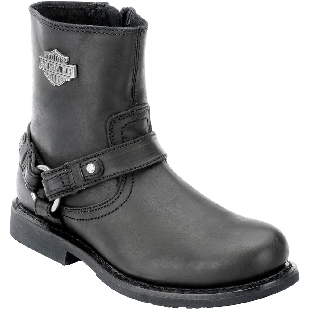 Image for Harley Davidson Men's Scout Motorcycle Boots - Black from bootbay