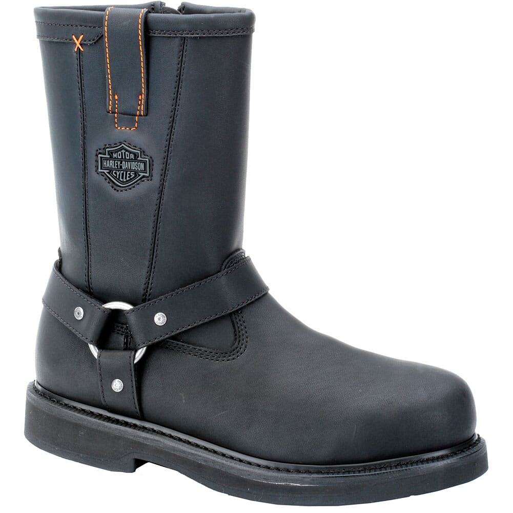Image for Harley Davidson Men's Bill Safety Boots - Black from bootbay