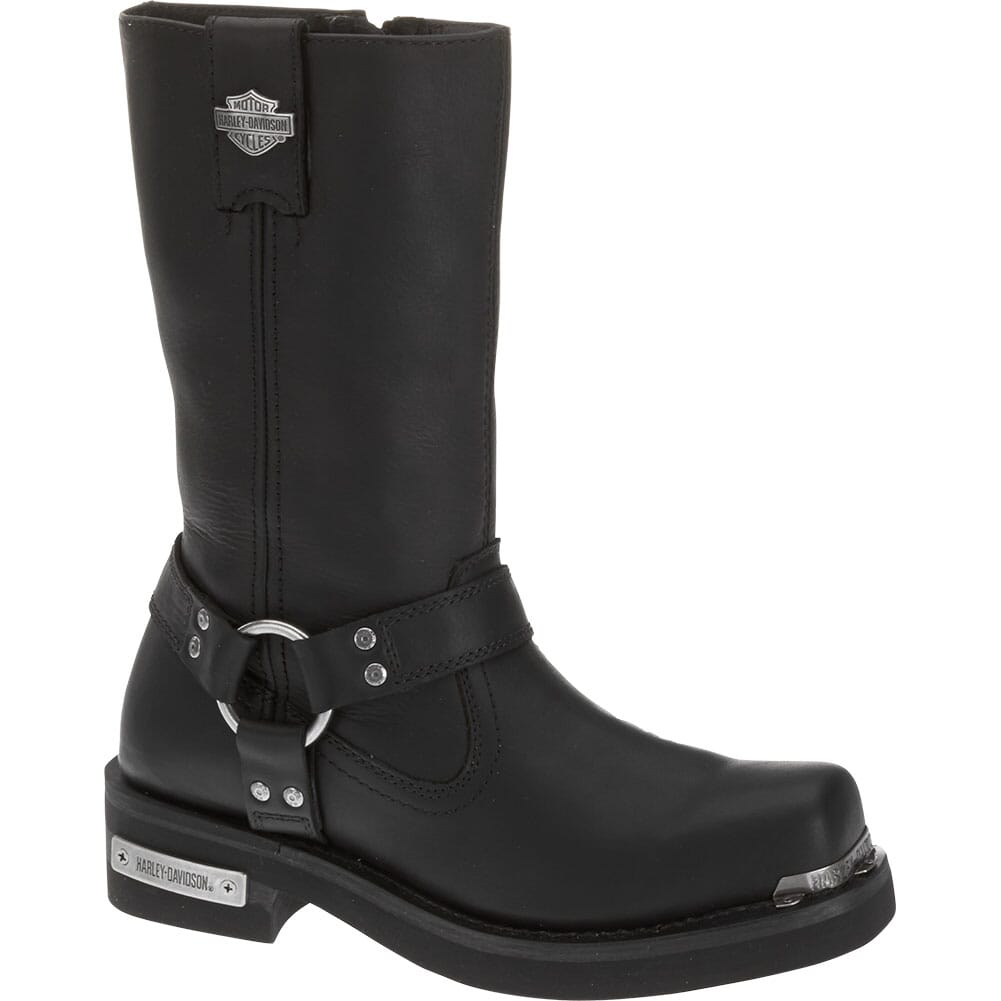 Image for Harley Davidson Men's Landon Motorcycle Boots - Black from bootbay