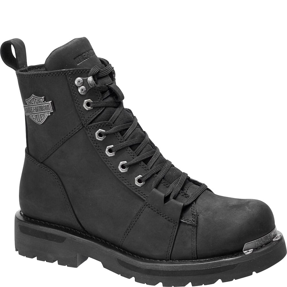 Image for Harley Davidson Men's Sperling Motorcycle Boots - Black from bootbay
