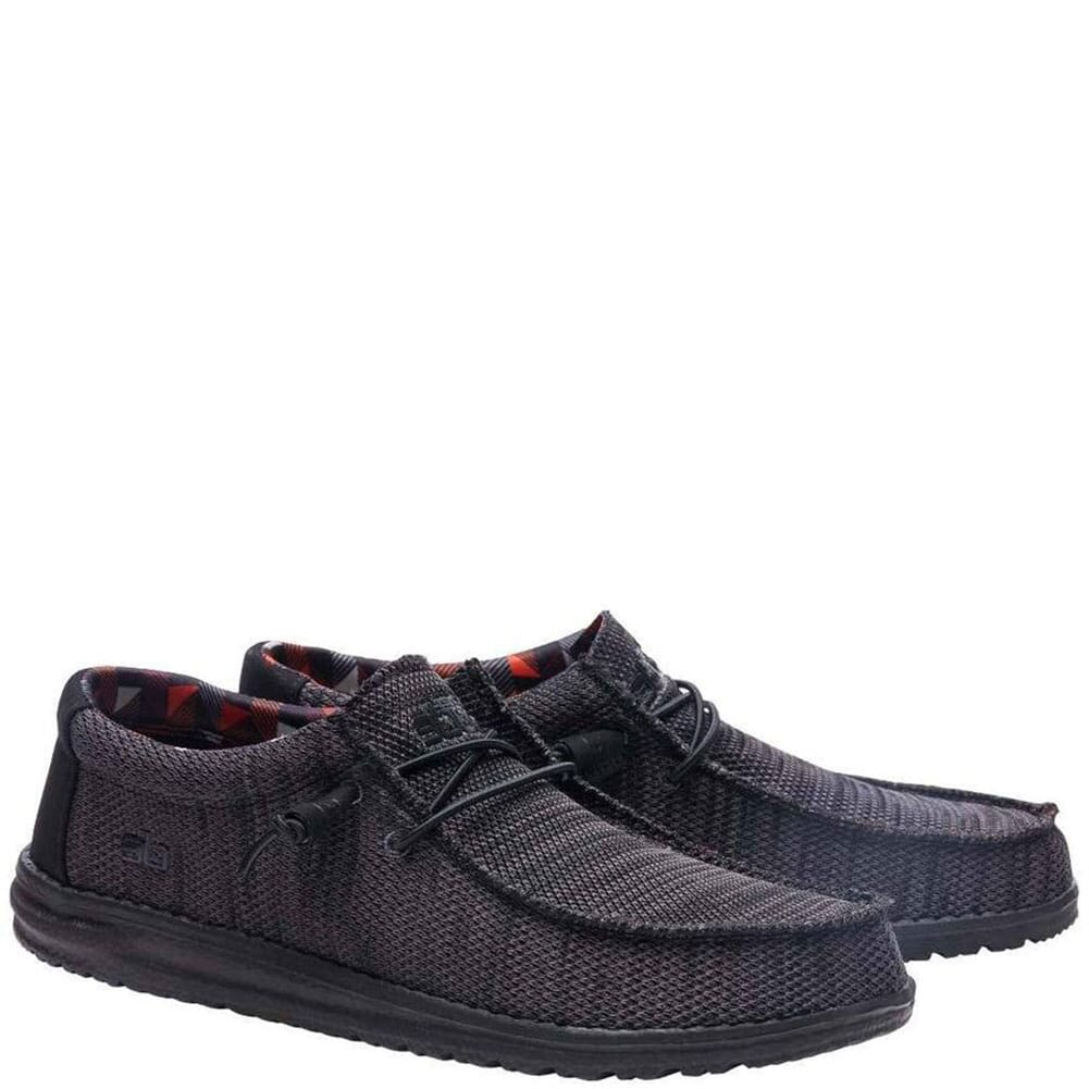 Wally Sox Funk Casual Shoes - Jet Black