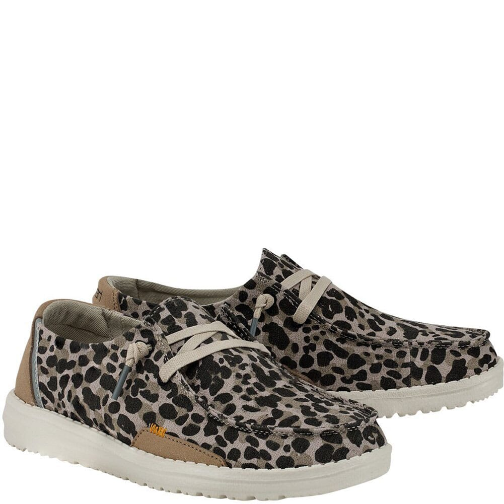 Image for Hey Dude Women's Wendy Jungle Casual Shoes - Beige from bootbay