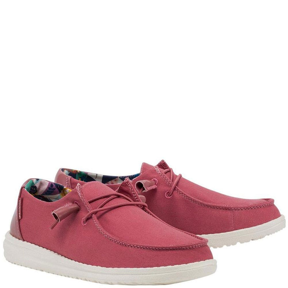 Image for Hey Dude Women's Wendy Summer Casual Shoes - Rosette from bootbay