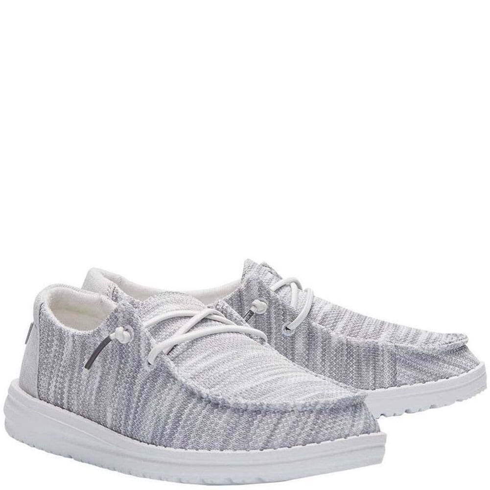 Image for Hey Dude Women's Wendy Sox Casual Shoes - Glacier Grey from bootbay