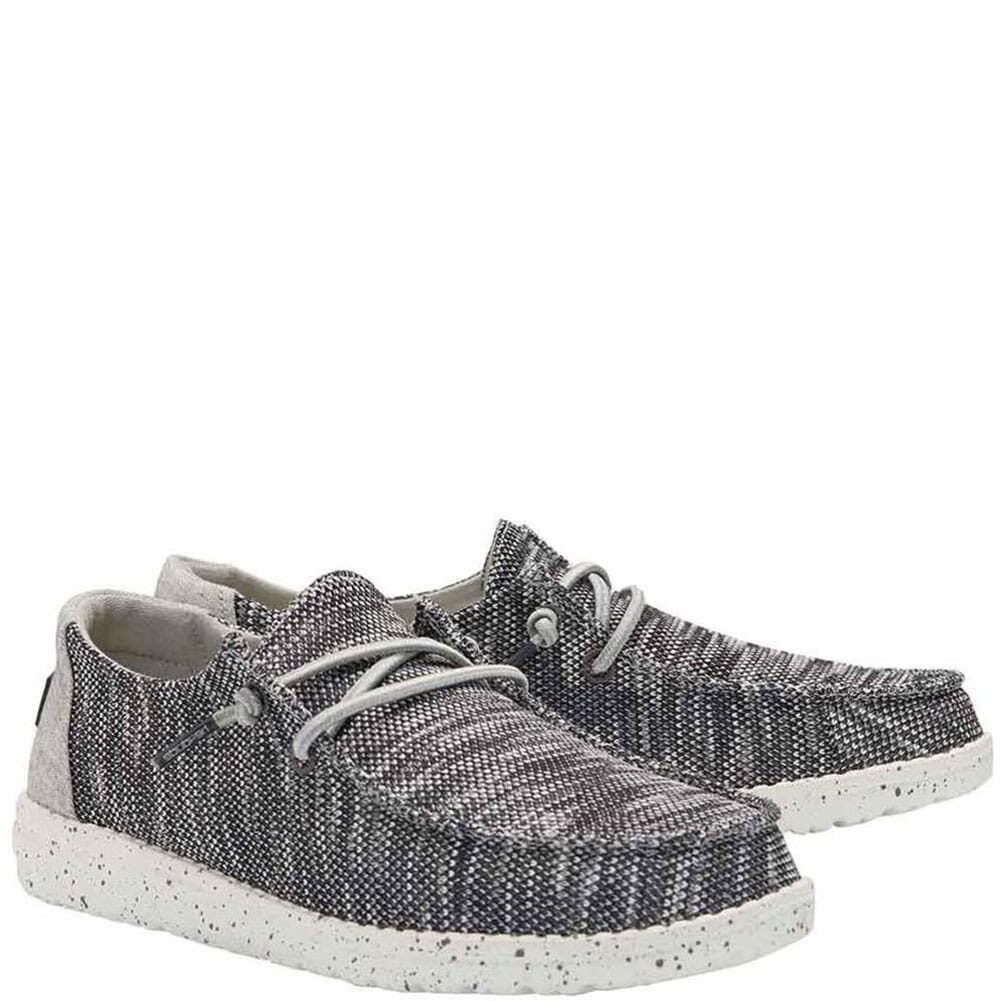 Image for Hey Dude Women's Wendy Sox Casual Shoes - Dark Grey from bootbay