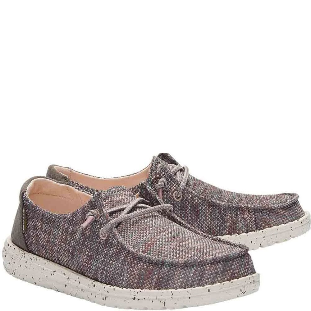 Image for Hey Dude Women's Wendy Sox Casual Shoes - Antique Rose from bootbay
