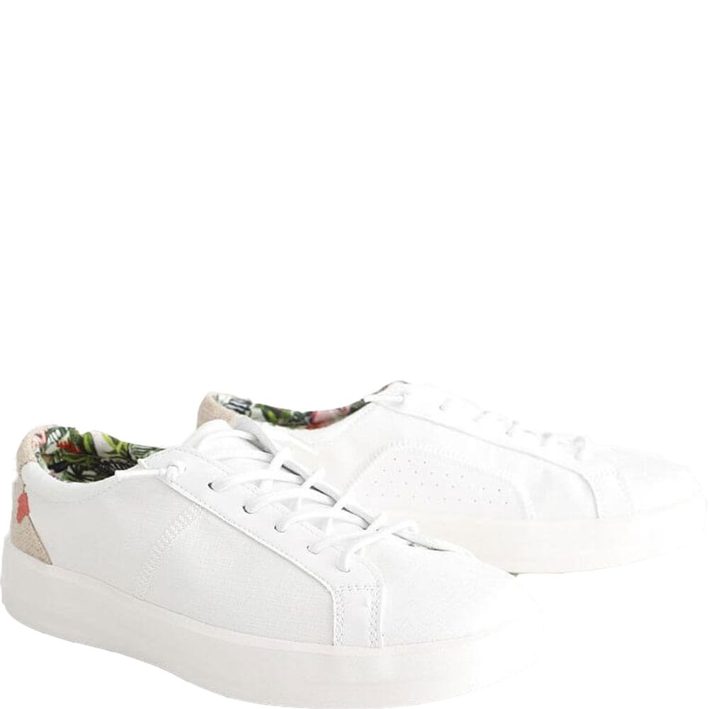 Image for Hey Dude Women's Karina Casual Shoes - White from bootbay