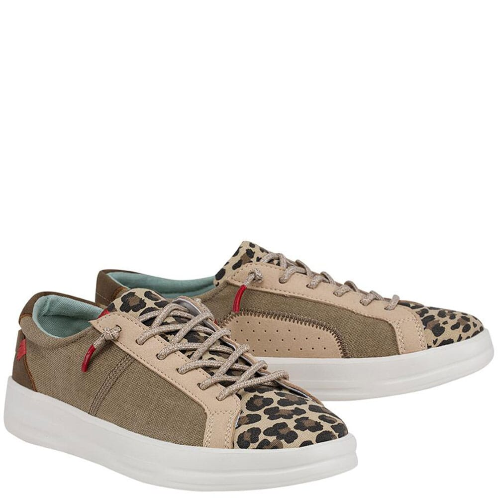 Image for Hey Dude Women's Karina Casual Shoes - Beige from bootbay