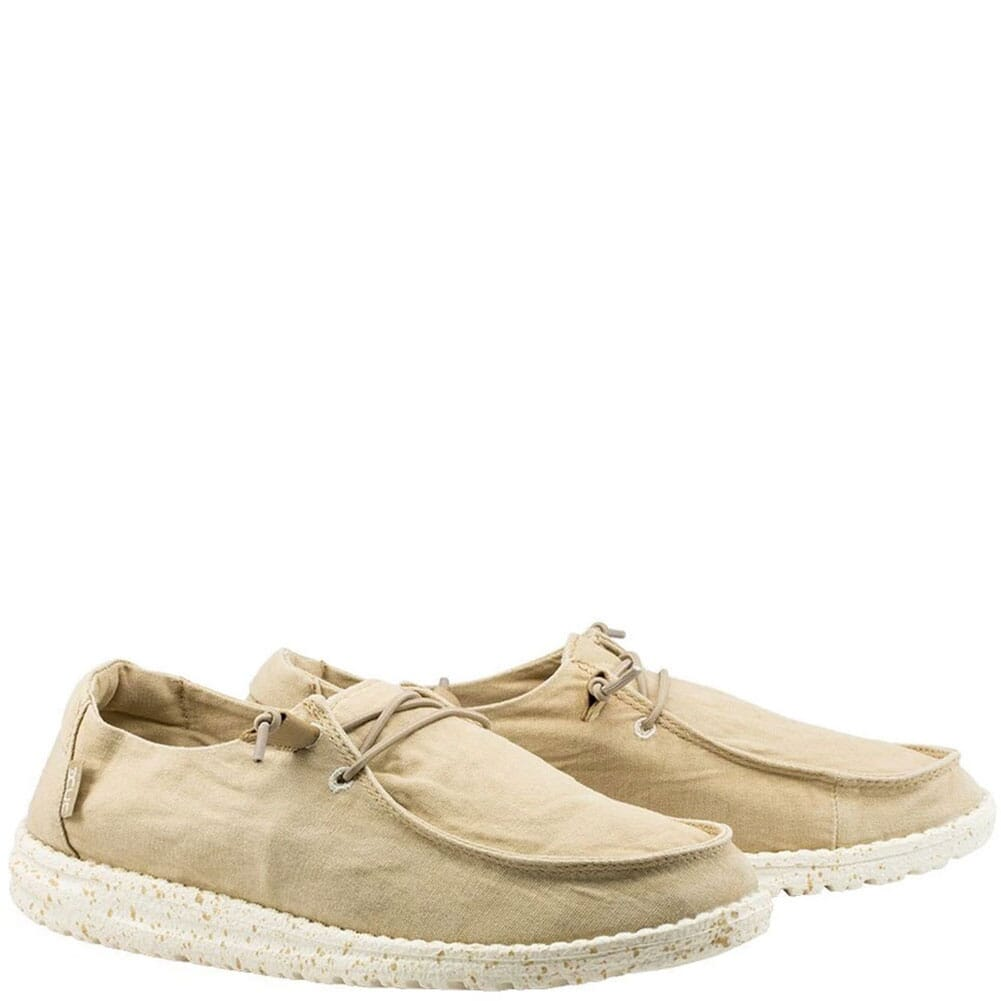 Image for Hey Dude Women's Wendy Casual Shoes - Beige from bootbay
