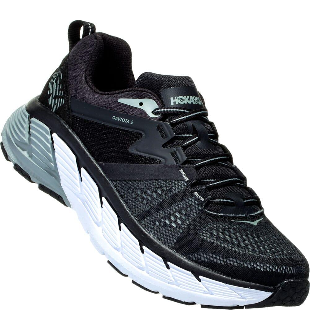 Image for Hoka One One Men's Gaviota 2 Athletic Shoes - Black from bootbay