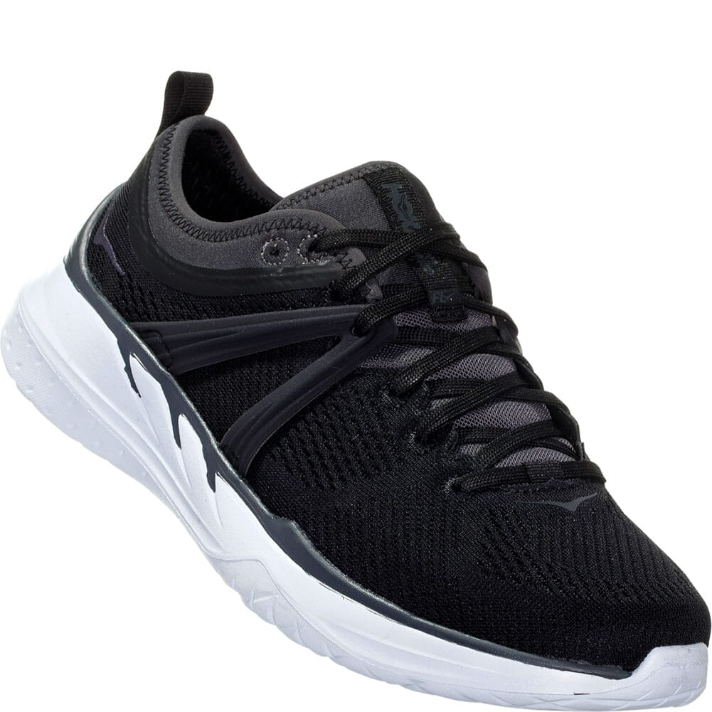 Image for Hoka One One Women's Tivra Athletic Shoes - Black from bootbay
