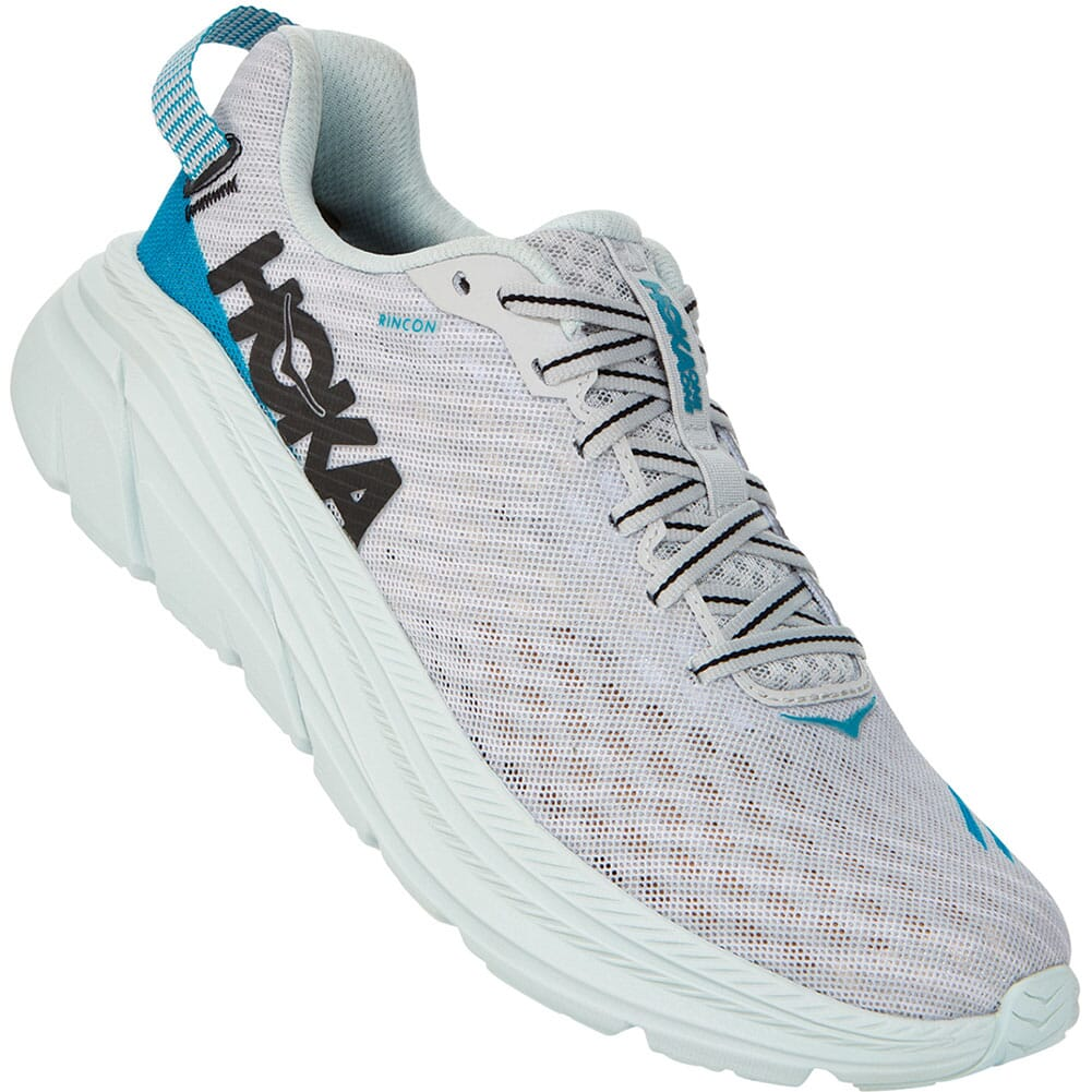 Image for Hoka One One Women's Rincon Running Shoes - Lunar Rock from elliottsboots