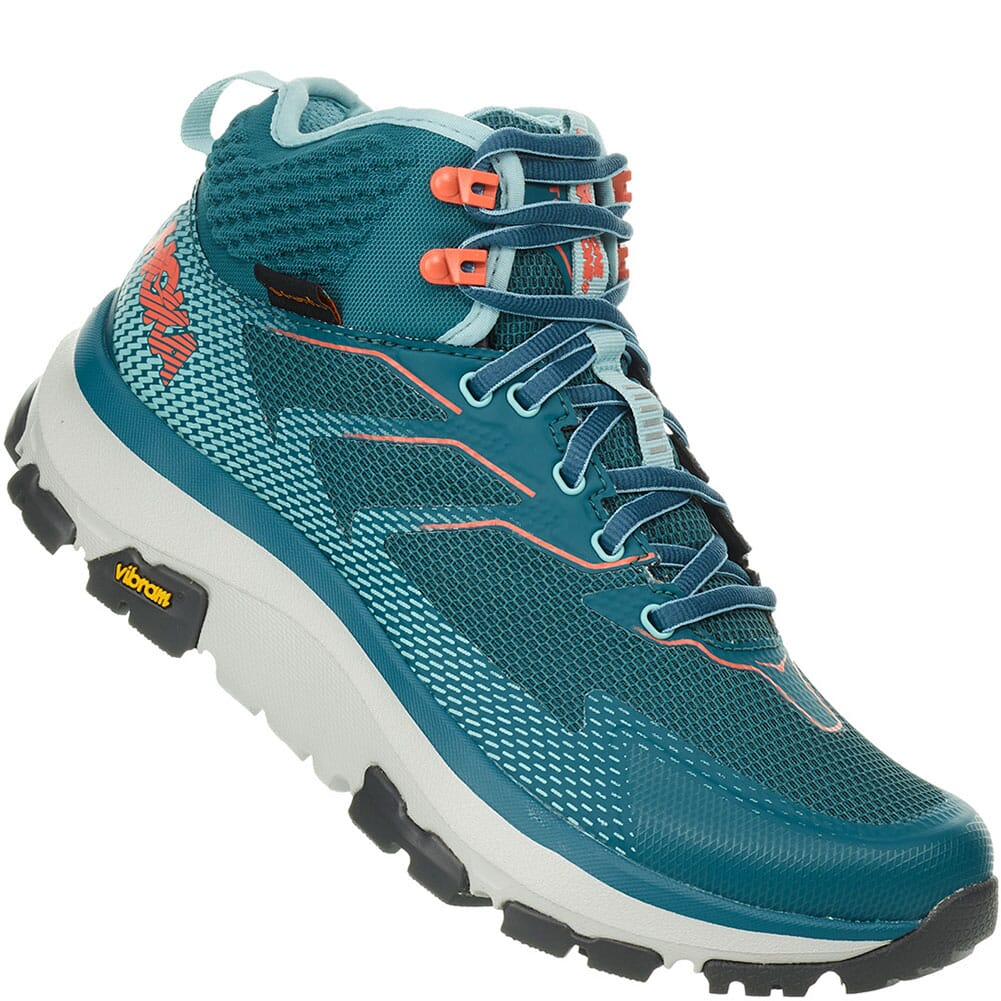 Image for Hoka One One Women's Sky Toa Hiking Shoes - Dragonfly from elliottsboots