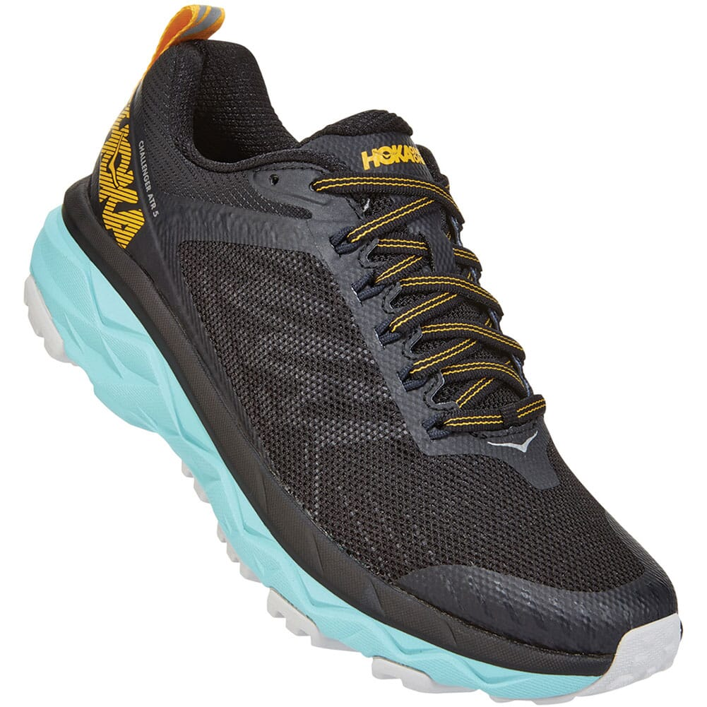 Image for Hoka One One Women's Challenger ATR 5 Wide Running Shoes - Anthraci from elliottsboots
