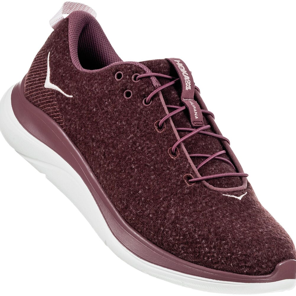 Image for Hoka One One Women's Hupana Athletic Shoes - Rose Brown from elliottsboots